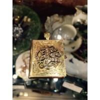 Gold pendant mini Koran